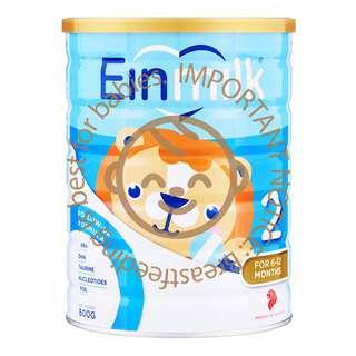 Einmilk Follow Up Milk Formula - Stage 2