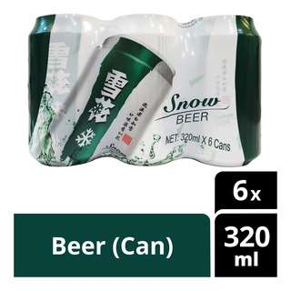 Snow Can Beer
