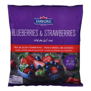 Emborg Frozen Blueberries & Strawberries