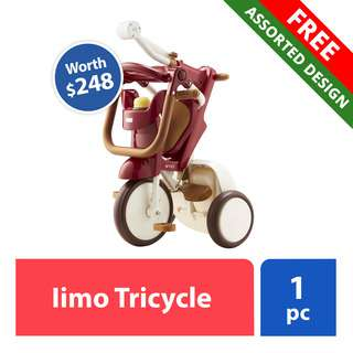 FREE Iimo Tricycle (worth $248)