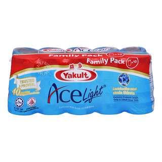 Yakult Cultured Milk Bottle Drink - Ace Light(FamilyPack)