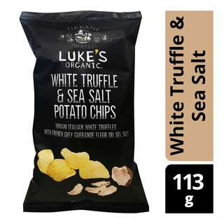 Luke's Organic Potato Chips - White Truffle & Sea Salt