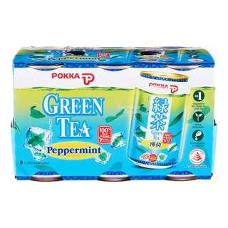 Pokka Can Drink - Green Tea (Peppermint)