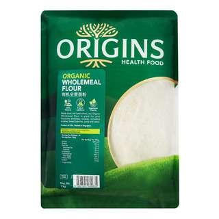 Origins Healthfood Organic Flour - Wholemeal