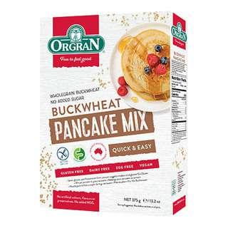 Orgran Gluten Free Pancake Mix - Buckwheat