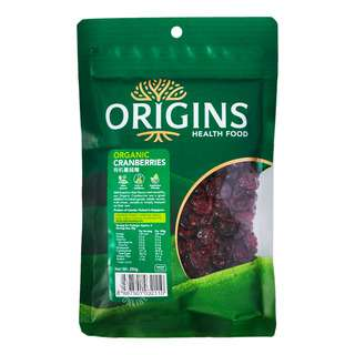 Origins Healthfood Organic Cranberries
