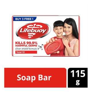 Lifebuoy Bar Soap - Total 10