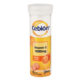 Bursting with great tasting flavour, Cebion Vitamin C Effervescent Tablets has been a delicious way of adding to the body's supply of Vitamin C.