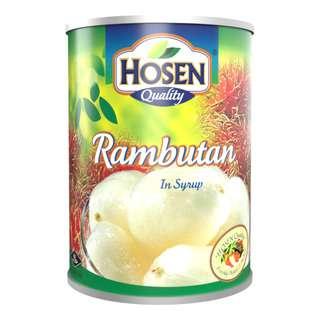 Hosen Fruits in Syrup - Rambutan
