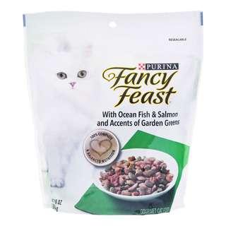 Fancy Feast Dry Cat Food - Ocean Fish, Salmon & Garden Greens