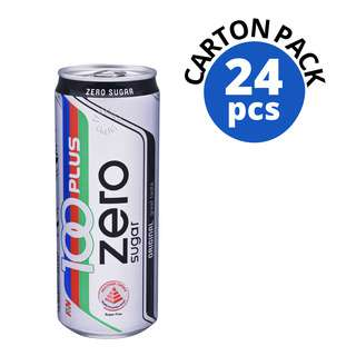 100 Plus Zero Sugar Can Drink - Original