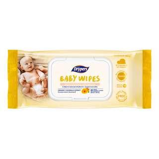 Drypers Baby Wipes - Reduce Irritation