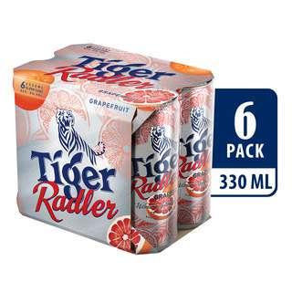 Tiger Radler Can Beer - Grapefruit