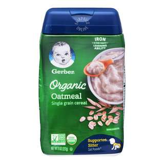 <p>Gerber delivers high quality infant cereals that are trusted by moms all over the world.&nbsp;Packaging made without BPA.</p>