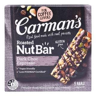 Carman's Nut Bars - Dark Chocolate Espresso