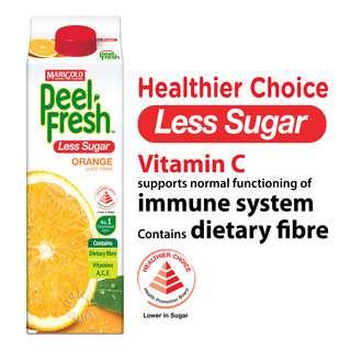 Marigold Peel Fresh Juice - Orange (Less Sugar)