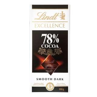 Lindt Excellence Chocolate Bar - 78% (Intense Dark)