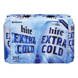 Hite Can Beer - Extra Cold