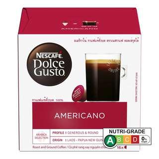 Nescafe Dolce Gusto Beverage Capsules - Americano