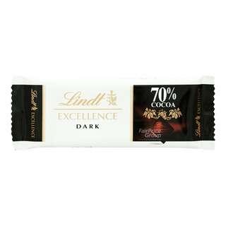 Lindt Excellence Chocolate Bar - 70% (Dark)