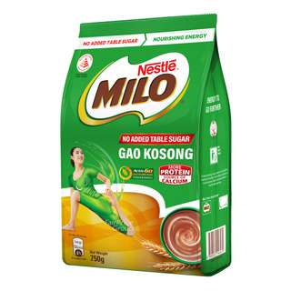 Milo Instant Chocolate Malt Drink Powder - Gao Kosong