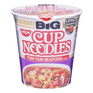 Nissin Instant Cup Noodles -Tom Yam Seafood