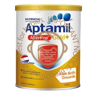 Aptamil AllerPro Gold+ Infant Milk Formula - Stage 1