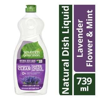 Seventh Generation Dish Liquid - Lavender Flower & Mint