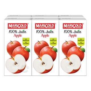 Marigold 100% Packet Juice - Apple