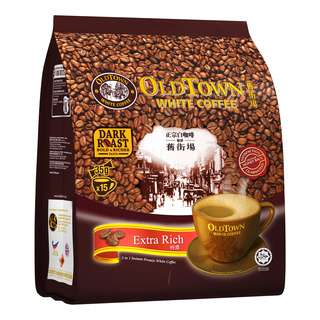Old Town 3 in 1 Instant White Coffee - Extra Rich