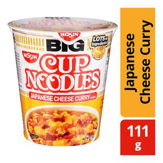 Nissin Big Instant Cup Noodles - Japanese Cheese Curry