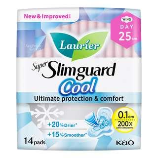 Laurier Super Slimguard Cool Day Pads - 25cm