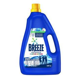 Breeze Liquid Detergent - Anti-Bacterial & Colour Protect