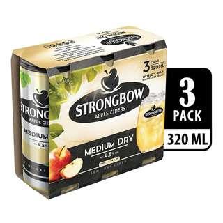 Strongbow Apple Can Cider - Medium Dry