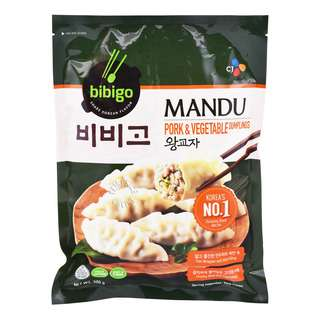 CJ Bibigo Mandu Dumpling - Pork & Vegetable