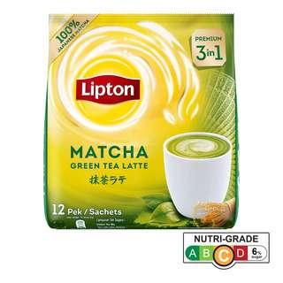 Lipton 3 in 1 Instant Milk Tea Latte - Matcha