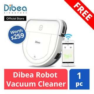 FREE Dibea Robot Vacuum Cleaner (worth $259)