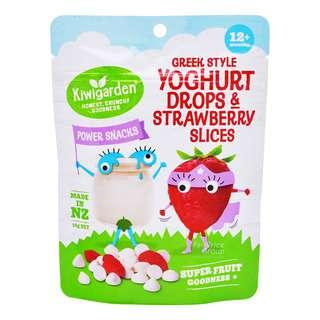 Kiwigarden Yoghurt Drops - NaturalGreekStyle&StrawberrySlices