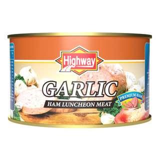 Highway Luncheon Meat - Garlic (Ham)