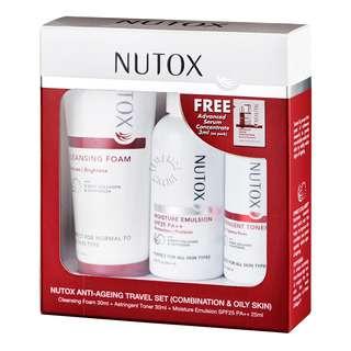 Nutox Anti-Ageing Travel Set - Combination & Oily Skin