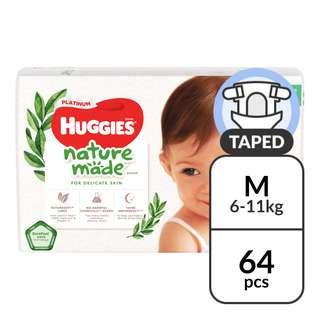 Huggies Platinum Diapers - M (6 - 11kg)