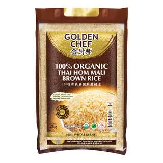 Golden Chef Organic Thai Hom Mali Brown Rice