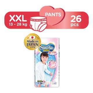 MamyPoko Air Fit Girl Pants - XXL (13 - 25kg)