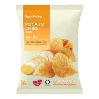 FairPrice Potato Chips - Cheese