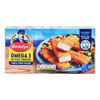 Birds Eye Frozen Breaded Fish Fingers - Omega 3