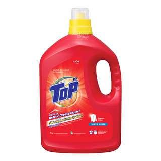 Top Concentrated Liquid Detergent Bottle - Super White