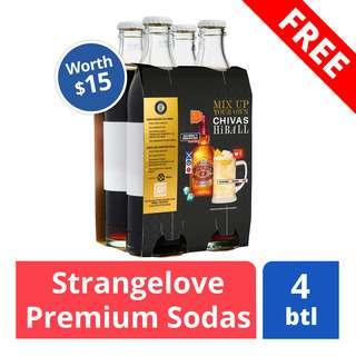 FREE Strangelove Flavoured Soda (worth $15)
