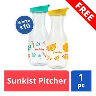 FREE Sunkist pitcher (worth$10)