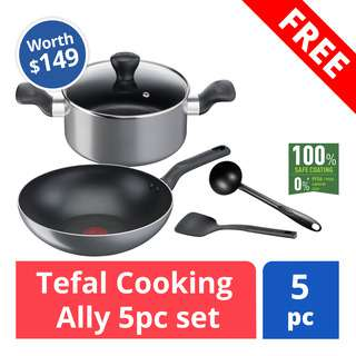 FREE Tefal Cooking Ally Set (worth $149)