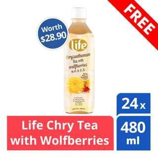 FREE LIFE Chrysanthemum Tea (Worth $28.90)